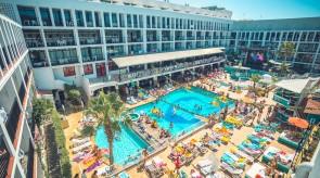 Ibiza Rocks Hotel Poolside