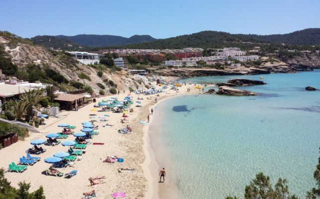 Cala Tarida Beach Ibiza